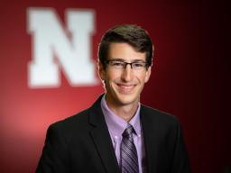Student Club President Josh Baldus from Fairmont, Minnesota