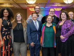 LGBTQA+ & History Month Dinner