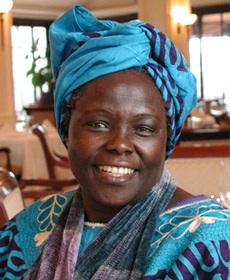 The late Wangari Maathai