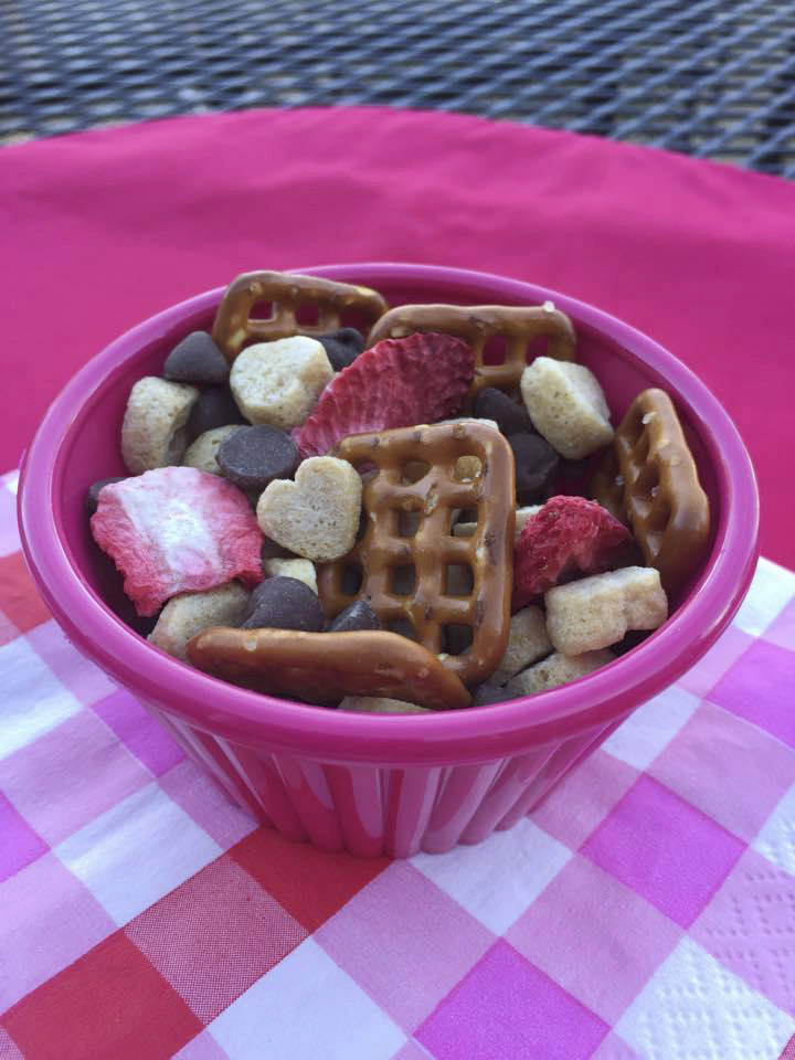 Valentine's Day Snack Mix (Photo by Cami Wells, Nebraska Extension in Hall County)