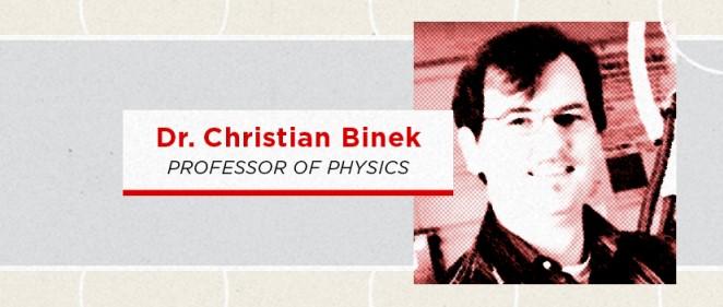 January CAS Inquire Dr. Christian Binek