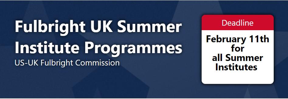 Fulbright UK Summer Institute