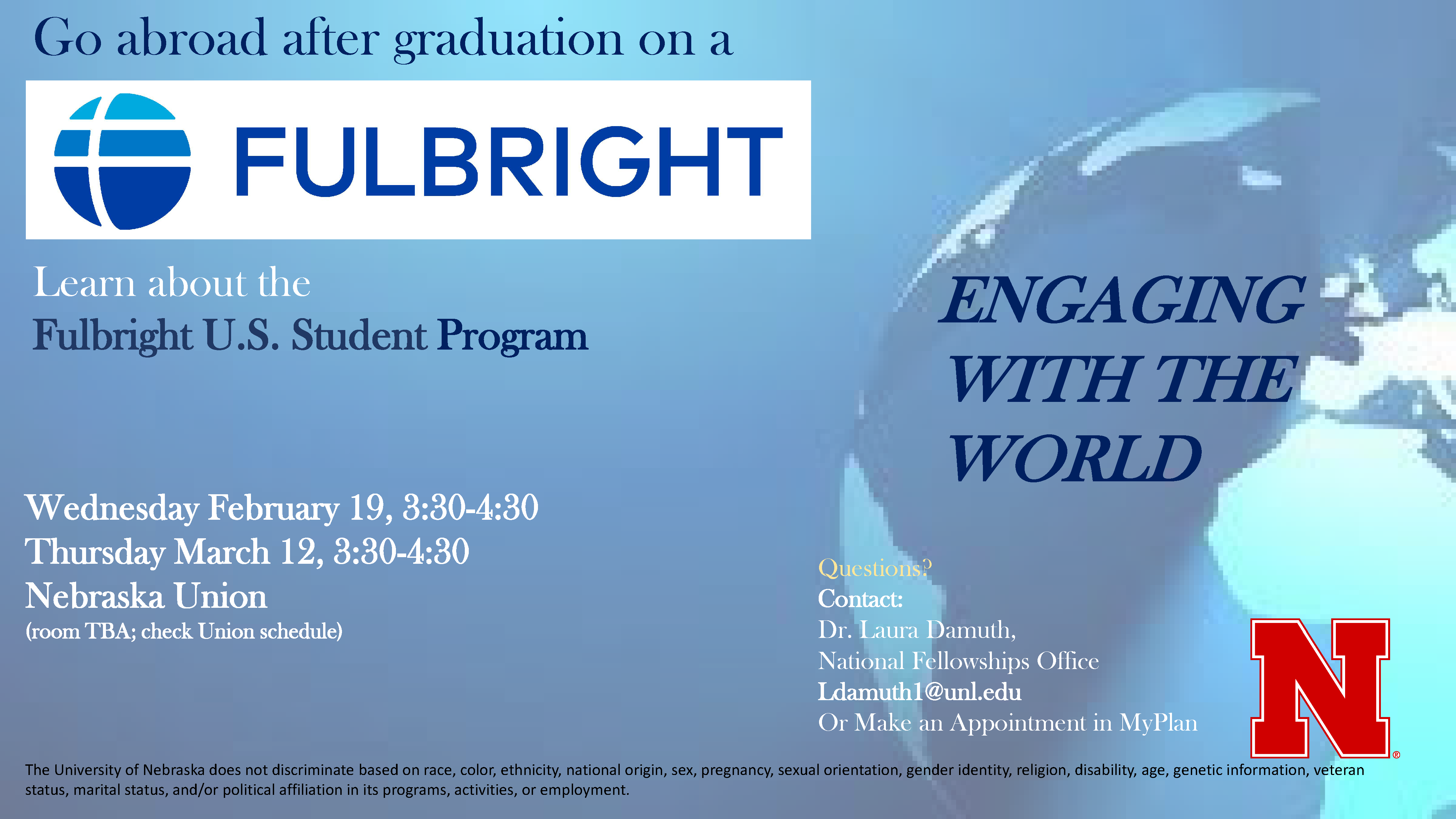 Fulbright Awards Information Sessions