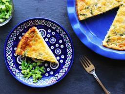 Magic Crust Quiche (Photo: USDA Choose MyPlate)