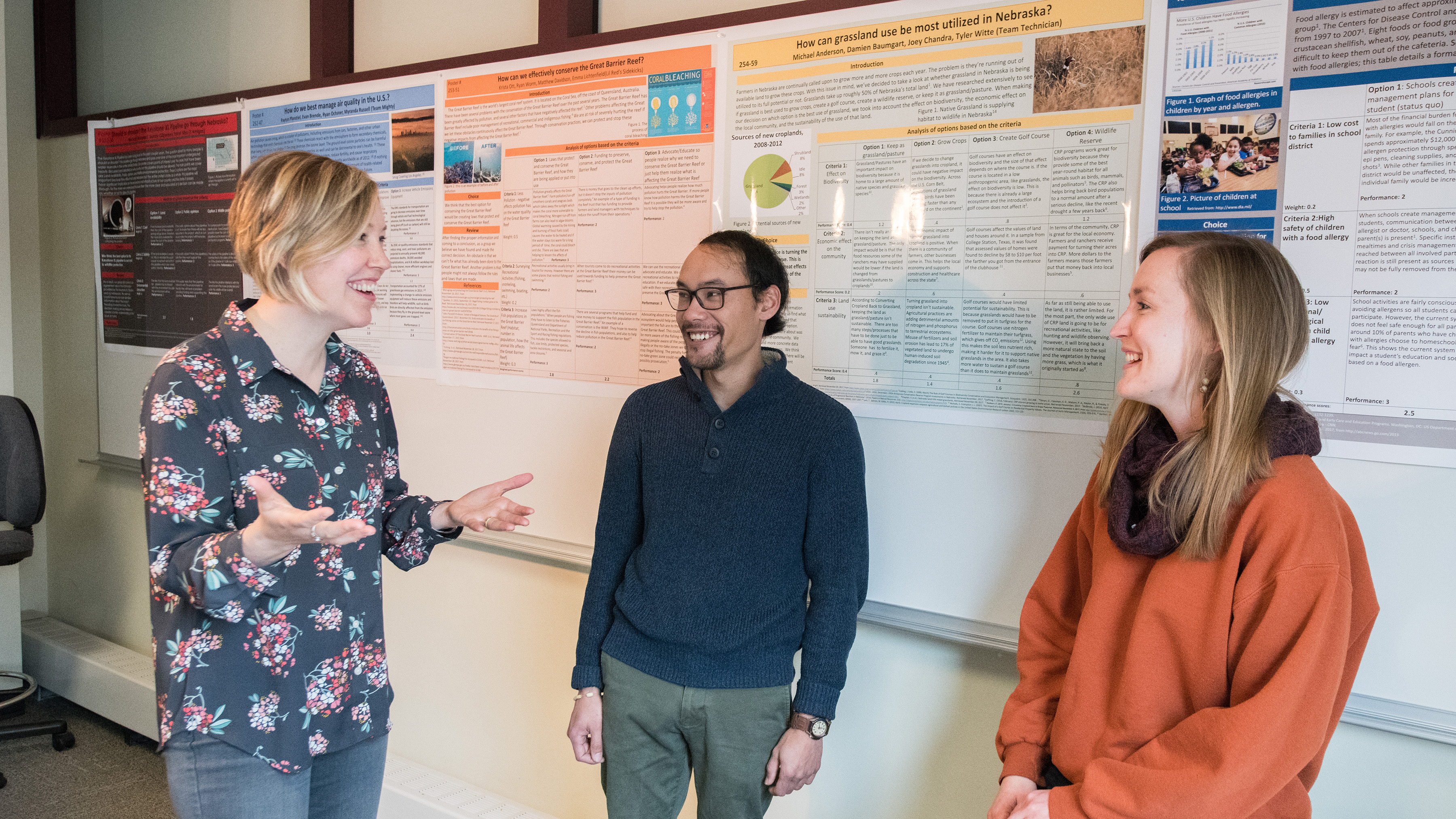 Jenny Dauer, assistant professor of science literacy, earned a National Science Foundation grant to study how human factors such as emotion and motivation come into play in science classrooms. | University Communications file photo