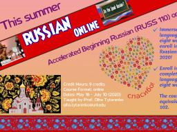 RUSS 110: Accelerated Beginning Russian