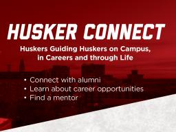 Use Husker Connect to jump start your career path.