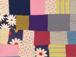 Detail of a patchwork quilt from the International Quilt Museum's Roderick Kiracofe Collection, which it acquired earlier this year.