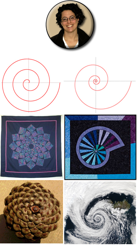 Jessica Korth's Spiral and Quilt Designs MAT Paper