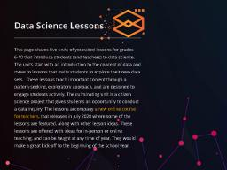 https://www.youcubed.org/data-science-lessons