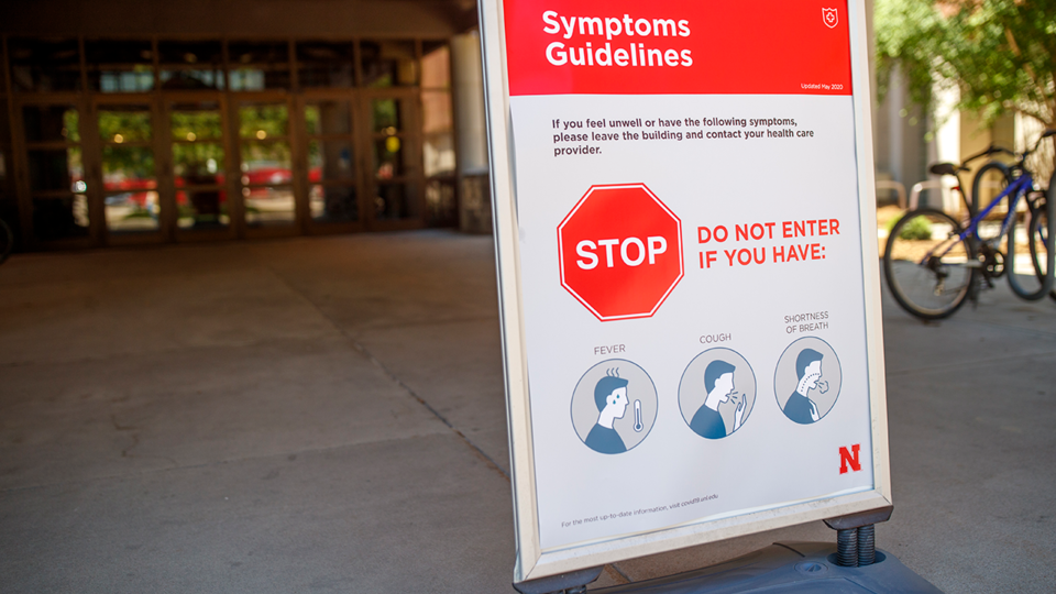 The University of Nebraska–Lincoln has created an online resource of COVID-19 signage options.