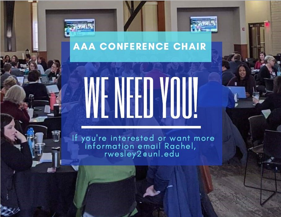 AAA Conference Chair