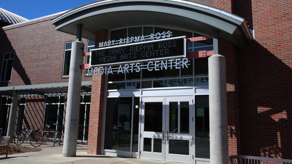 The Mary Riepma Ross Media Arts Center is located at the corner of of 13th and R Streets.