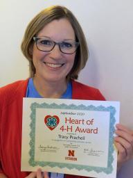 4-H volunteer Tracy Pracheil