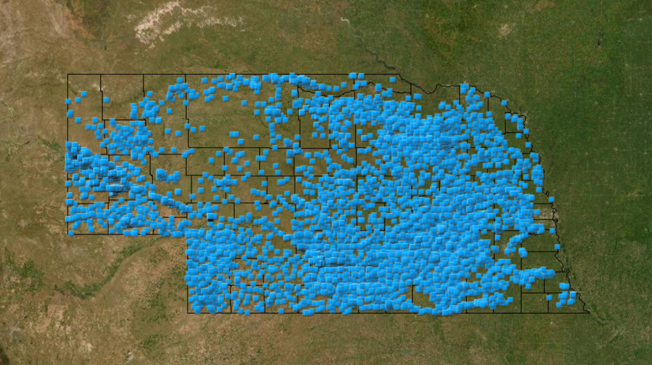 The Conservation and Survey Division Ground Water and Geology Data Portal is designed to overlay different layers of information to make informed decisions on accessing water in Nebraska.