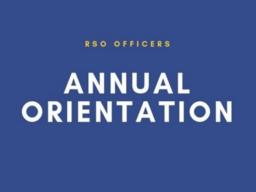 Annual Orientation