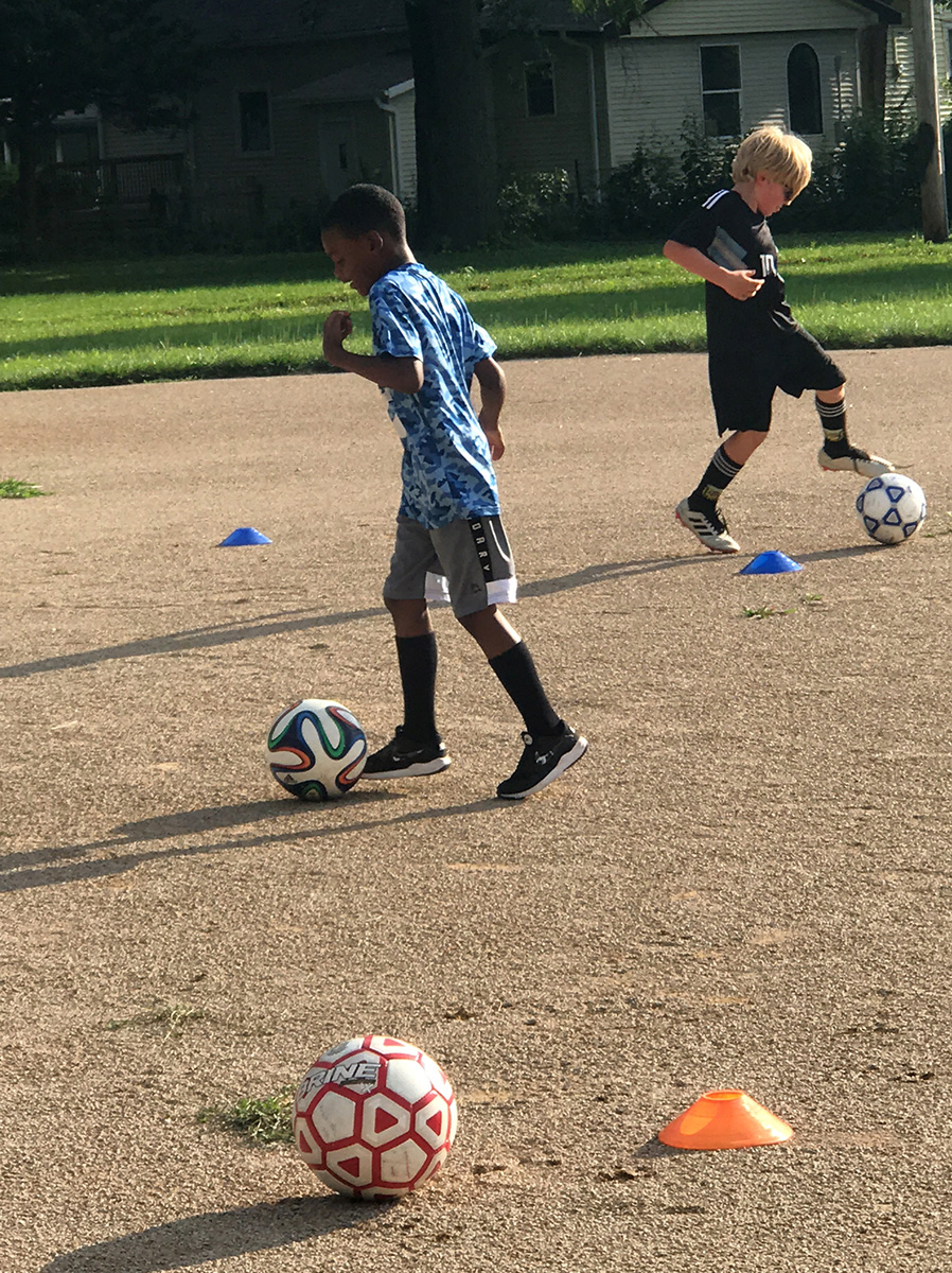Soccer for Success program