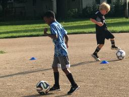 Soccer for Success program