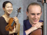 Chiara String Quartet members (from left) Julie Yoon and Gregory Beaver.