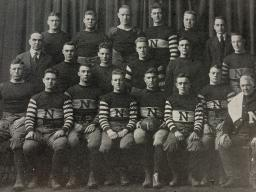 1918 Cornhusker Football Team, courtesy of Archives & Special Collections, UNL