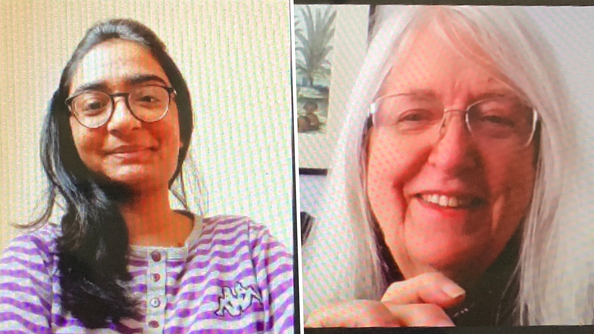Naisargee Patel, senior biological sciences major, and Priscilla Grew, director emerita of the University of Nebraska State Museum, were paired through the Rotary Club 14 International Student Mentoring Program based on mutual interests and ties to India.