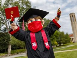 The University of Nebraska–Lincoln will confer about 1,400 degrees during a virtual graduation celebration Dec. 19.