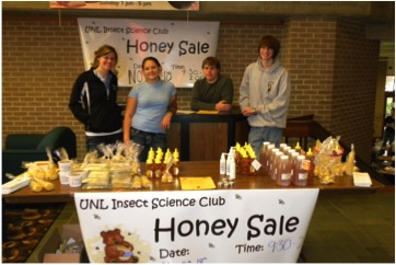 The Insect Science Club's annual honey sale starts Nov. 8.