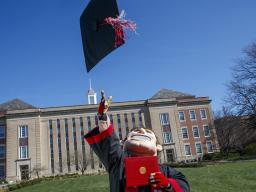 Apply for Spring 2021 Graduation in MyRed.
