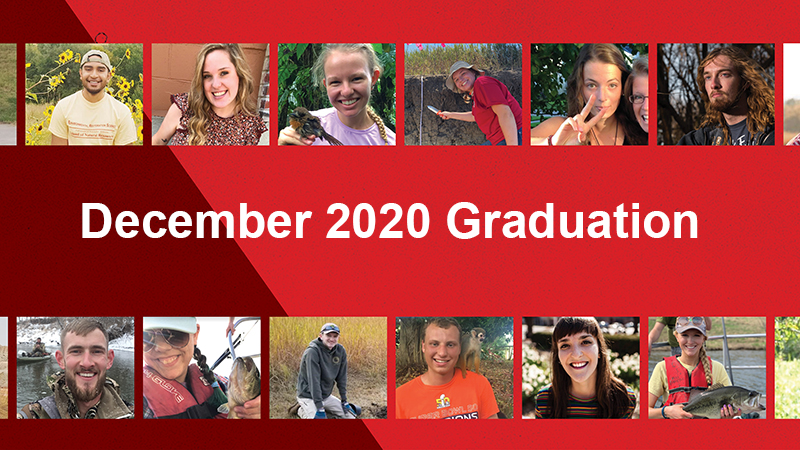 Twenty-four SNR undergrads earned their diplomas after completing this challenging semester.