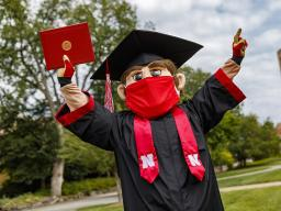 The University of Nebraska–Lincoln conferred 1,404 degrees during a virtual graduation celebration Dec. 19. Diplomas will be mailed to graduates.
