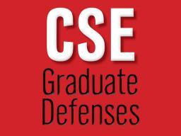 Jeevan Rajagopal's Master's Thesis Defense will be Friday, Feb. 5 at noon via Zoom.