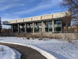 The Dinsdale Family Learning Commons opened Jan. 27, 2021 and is located in the heart of East Campus.