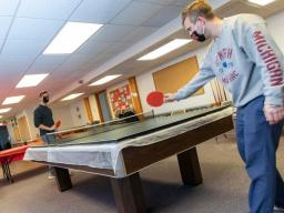 Students can build community and support one another through the Collegiate Recovery Community in Husker Hall.