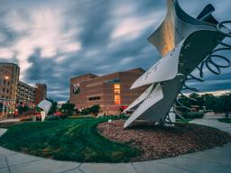 Through continued collaboration with the Lincoln-Lancaster County Health Department and the University of Nebraska–Lincoln, all shows with in-person audiences will feature socially distanced seating, and masks are required inside the Lied Center.