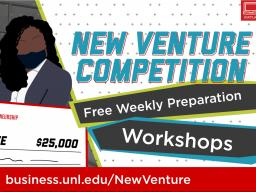 Attend any of the free preparation workshops to sharpen your pitch for $25,000.