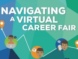 Navigating a Virtual Career Fair