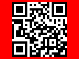 QR Code that represents the link to the server surrounding by a white border.
