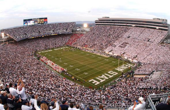 Penn State University's Beaver Stadium.
