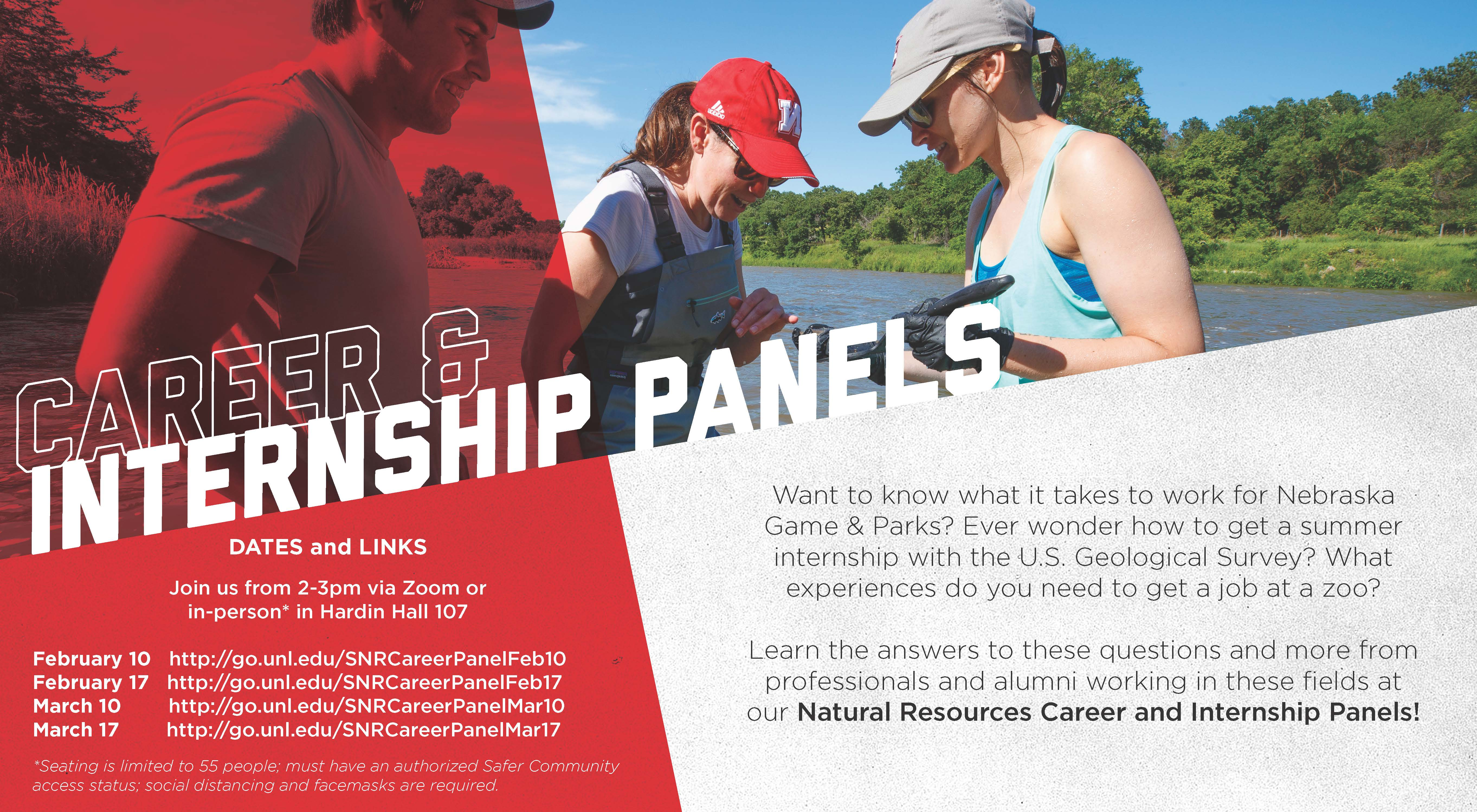 On Feb. 17, the panelists will include representatives from the Wyoming Game & Fish Dept, YMCA Camp Kitaki and Nebraska Game and Parks Commission.
