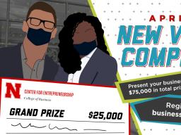Bring your business to life by competing in the New Venture Competition, April 12-13, featuring a total of $75,000 in cash prizes.
