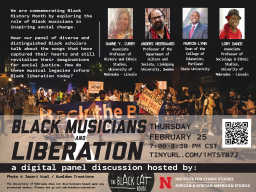 Black Musicians and Liberation