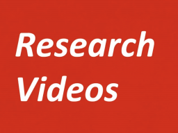 Learn how to share your research or creative activity through video presentations for Student Research Days and future conferences.