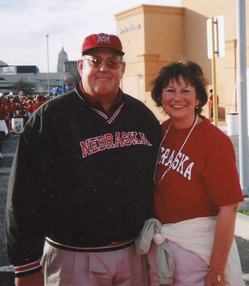 The late John E. McCue and his wife Jerri