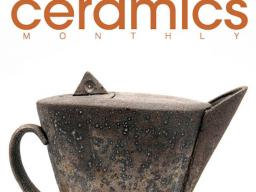 """Stuart Gair (MFA 2017) is featured in the cover story """"A Thoughtful Soda Approach"""" in the April 2021 issue of Ceramics Monthly."""