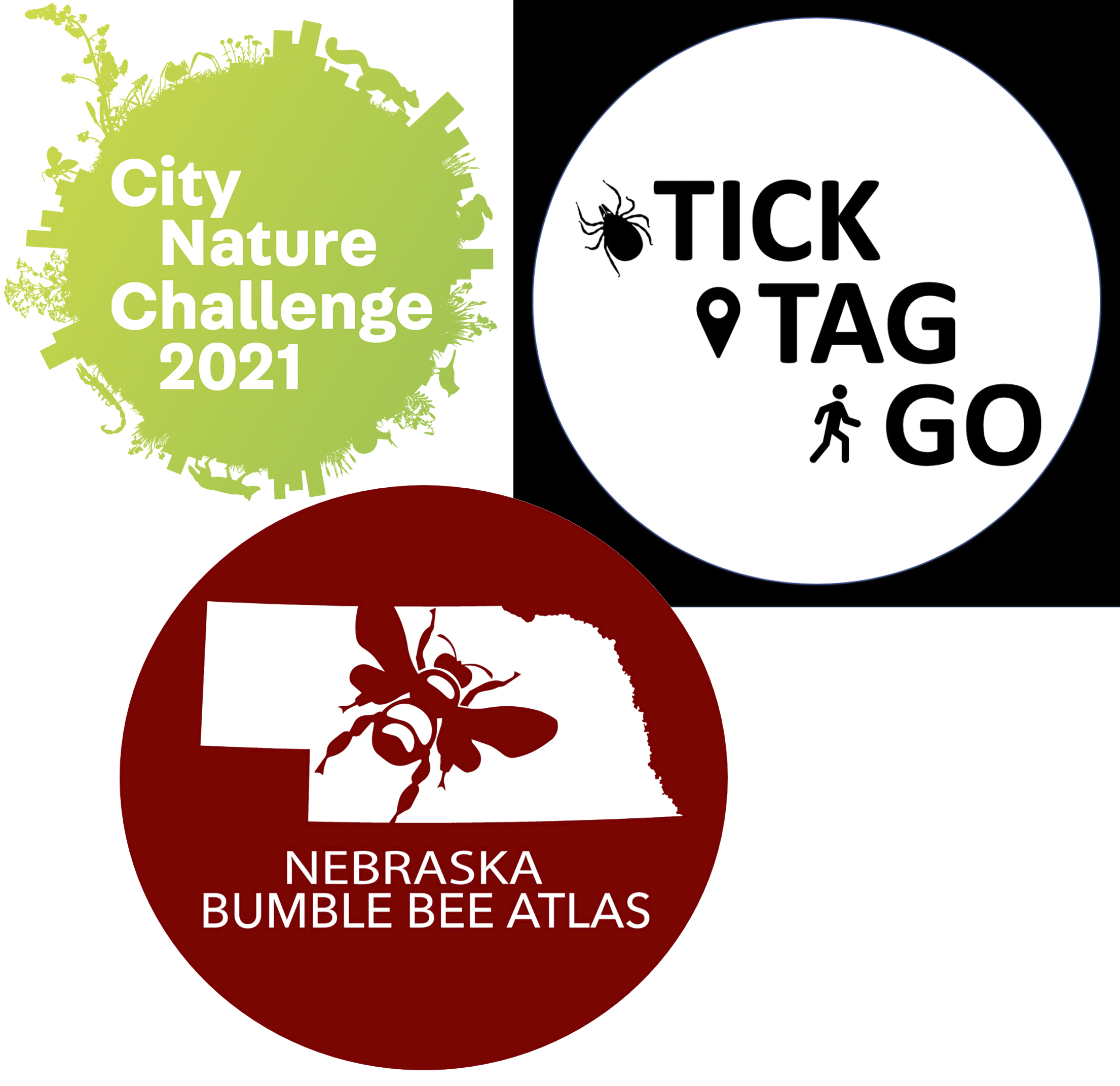 Lincoln City Nature Challenge — Nebraska Game & Parks, Tick Tag Go — IANR, and Nebraska Bumble Bee Atlas — Xerces Society