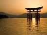 A Shinto shrine.