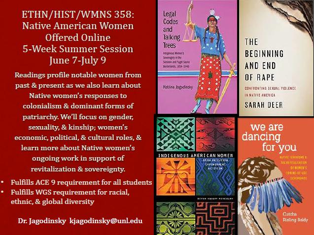 ETHN/HIST/WMNS 358: Native American Women