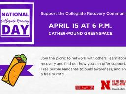 Support National Collegiate Recovery Day on April 15