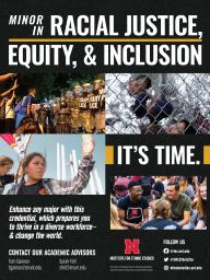New Minor in Racial Justice, Equity, & Inclusion