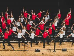 The Big Red Singers will perform May 2 at 7:30 p.m. via live webcast.